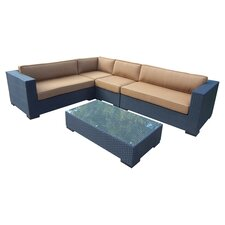 Hampton 5 Piece Deep Seating Group Set
