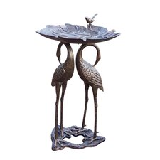 Metal Bird Baths Wayfair