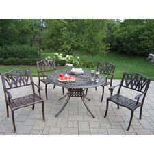 <strong>Oakland Living</strong> Capitol Tulip 5 Piece Dining Set