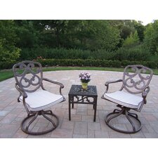 Pacifica 3 Piece Rocker Seating Group Set