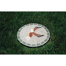 Mosaic Eagle Stepping Stone