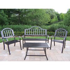 <strong>Oakland Living</strong> Rochester 4 Piece Lounge Seating Group