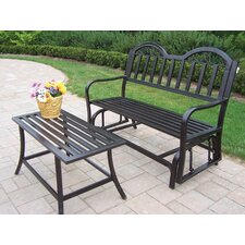 Rochester 2 Piece Bench Seating Group