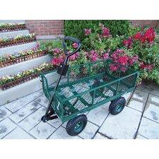 Utility Metal Garden Cart