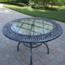 Mississippi Glass Top Dining Table