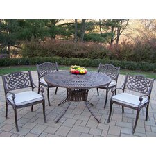 <strong>Oakland Living</strong> Sunray Mississippi Dining Set with Cushions