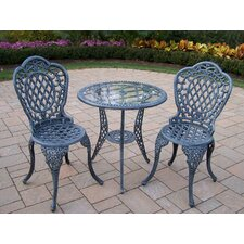 <strong>Oakland Living</strong> Mississippi 3 Piece Dining Set