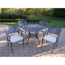 <strong>Oakland Living</strong> Tea Rose Dining Set with Cushions