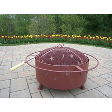 Cast Iron / Steel Wood Fire Pit