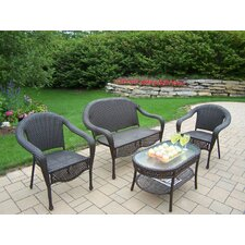 Elite 4 Piece Deep Seating Group Set