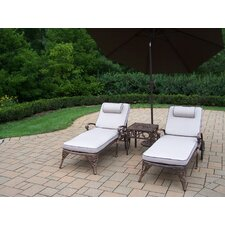 Elite 3-Piece Chaise Lounge Set