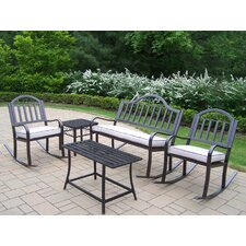 Rochester 5 Piece Rocker Seating Group