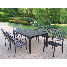 <strong>Oakland Living</strong> Rochester 7 Piece Dining Set