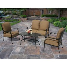 Hampton 4 Piece Deep Seating Group