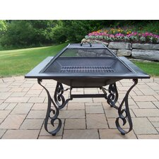 "Victoria 33"" Fire Pit with Grill"