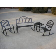 <strong>Oakland Living</strong> Rochester 4 Piece Rocker Seating Group