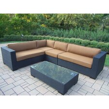 Hampton 5 Piece Deep Seating Group