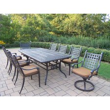 Belmont Rectangular Dining Set with Cushions