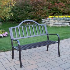 <strong>Oakland Living</strong> Rochester Iron Garden Bench