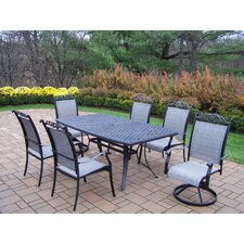 <strong>Oakland Living</strong> Cascade 7 Piece Dining Set
