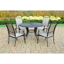 <strong>Oakland Living</strong> Sunray 5 Piece Dining Set