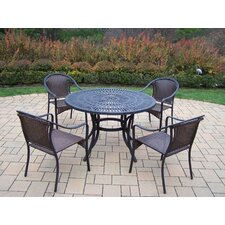 Sunray 5 Piece Dining Set