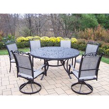 <strong>Oakland Living</strong> Mississippi 7 Piece Sling Dining Set