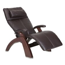 Perfect Chair Silhouette Zero-Gravity Leather Recliner