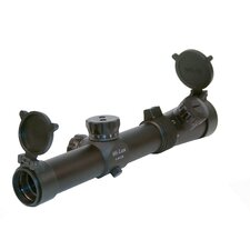 CMR Series Close-Medium Range Tactical Riflescope with Red Illuminated Reticle