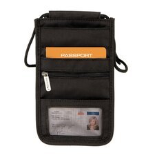 Travel Security RFID Blocking Deluxe Boarding Pouch