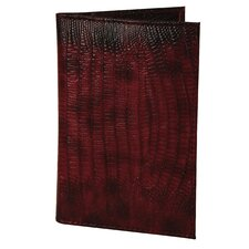 RFID Blocking Cowhide Passport Case