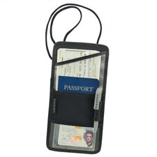 <strong>Travelon</strong> Travel Security Leather ID and Boarding Pass Holder