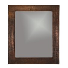 Hand Hammered Copper Mirror