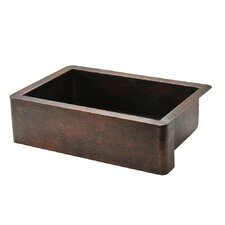 "33"" x 22"" Single Farmhouse Kitchen Sink"