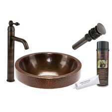 Skirted Vessel Bathroom Sink