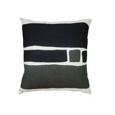 Big Block Applique Pillow