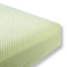 Polka Dots Cotton Fitted Crib Sheet