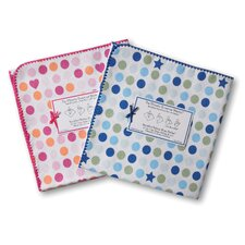 <strong>Swaddle Designs</strong> Ultimate Receiving Blanket® in Dots and Stars
