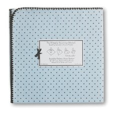 <strong>Swaddle Designs</strong> Ultimate Receiving Blanket® in Pastel with Brown Polka Dots