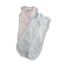 <strong>Swaddle Designs</strong> zzZipMe Sack in Pastel Blue Puff Circle