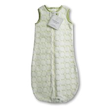 <strong>Swaddle Designs</strong> zzZipMe Sack in Pastel Kiwi Puff Circle
