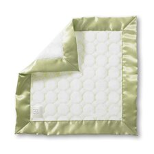 <strong>Swaddle Designs</strong> Baby Lovie Blanket with Puff Circles
