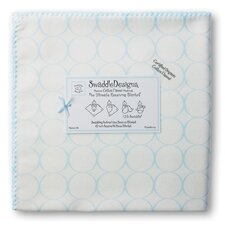 <strong>Swaddle Designs</strong> Organic Ultimate Receiving Blanket® in Pastel Mod Circles on Ivory