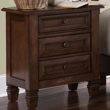 <strong>Liberty Furniture</strong> Taylor Springs 3 Drawer Nightstand