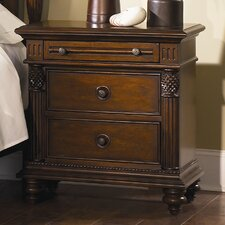 Royal Landing Tobacco 3 Drawer Nightstand