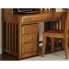 <strong>Liberty Furniture</strong> Hampton Bay Writing Desk in Oak