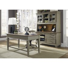 <strong>Liberty Furniture</strong> Jr Standard Executive Desk Office Suite