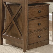 Hearthstone 3-Drawer Mobile  File Cabinet
