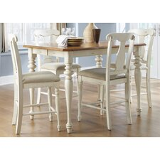 Ocean Isle 5 Piece Counter Height Dining Set