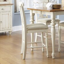 "Ocean Isle 23.5"" Counter Bar Stool with Cushion (Set of 2)"